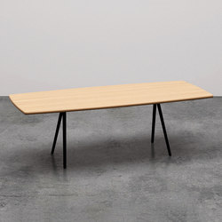 Meety a saponetta | Dining tables | Arper