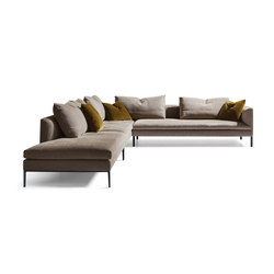Paul Sofa | Modular seating systems | Molteni & C