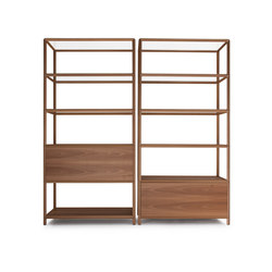 Reticolo Bookcase | Office shelving systems | Molteni & C