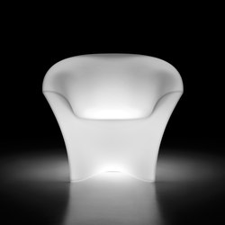 Ohla | Armchair Light | Poltrone da giardino | PLUST