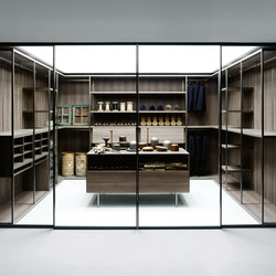 Antibes | Walk-in wardrobes | Boffi