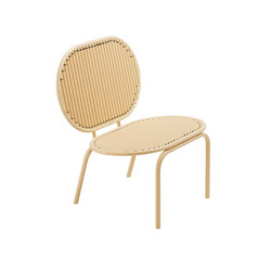 Roll Collection Lounge Chair | Garden armchairs | Studio Verena Hennig