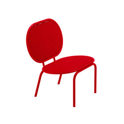 Roll Collection Lounge Chair | Garden armchairs | VERENA HENNIG