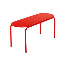 Roll Collection Bench | Panche da giardino | VERENA HENNIG