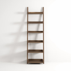 Ladder with shelves | Badregale | Idi Studio