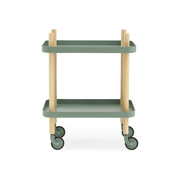 Block | Tea-trolleys / Bar-trolleys | Normann Copenhagen