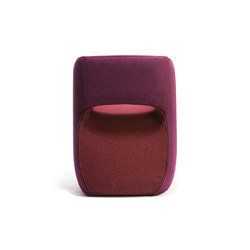 Om textile armchair | Visitors chairs / Side chairs | Mobles 114