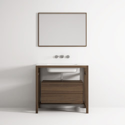 Âme cabinet 2 drawers integrated washbasin | Vanity units | Idi Studio