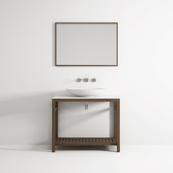 Âme cabinet 1 shelf | Wash basins | Idi Studio