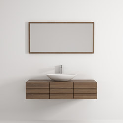 Bender cabinet 3 drawers | Bath shelving | Idi Studio