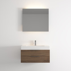 Dado hanging cabinet 2 drawers washbasin | Meubles sous-lavabo | Idi Studio