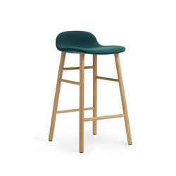 Form Barstool Upholstered | Bar stools | Normann Copenhagen