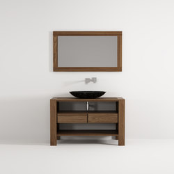 Max standing cabinet 2 drawers | Wash basins | Idi Studio