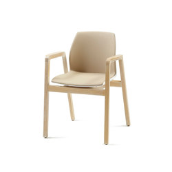 Grace PP 01 +A | Visitors chairs / Side chairs | De Zetel