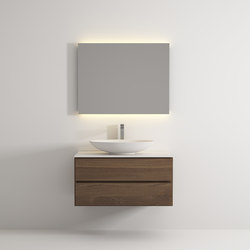 Move hanging cabinet 2 drawers | Meubles sous-lavabo | Idi Studio