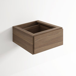 Move hanging cabinet 1 drawer | Mensole bagno | Idi Studio