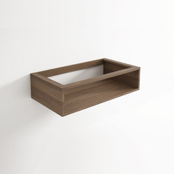 Move hanging cabinet 1 niche | Bath shelving | Idi Studio