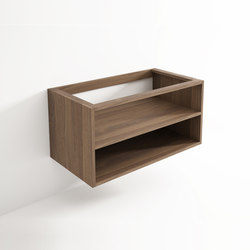 Move hanging cabinet 2 niches | Mensole bagno | Idi Studio