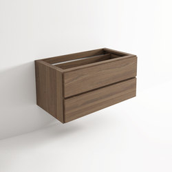 Move hanging cabinet 2 drawers | Mensole bagno | Idi Studio