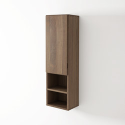 Move hanging rack 1 door left 2 niches | Wall cabinets | Idi Studio
