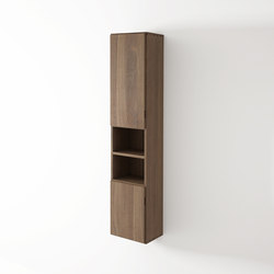 Move hanging rack 2 doors left 2 niches | Wall cabinets | Idi Studio