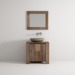 Organic cabinet 1 door | Mobili lavabo | Idi Studio