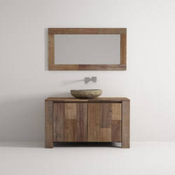 Organic cabinet 2 doors | Vanity units | Idi Studio