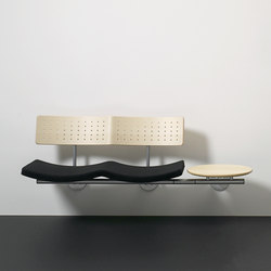 Sea wallmounted | Benches | Magnus Olesen