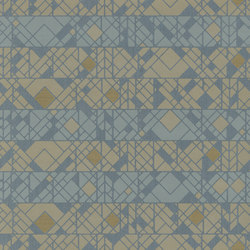 Berlin - Graphical pattern wallpaper FERUS 201-602 | Wall coverings | e-Delux