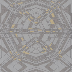 Berlin - Graphical pattern wallpaper FERUS 201-703 | Wall coverings | e-Delux