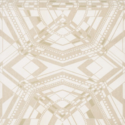 Berlin - Graphical pattern wallpaper FERUS 201-705 | Wall coverings | e-Delux