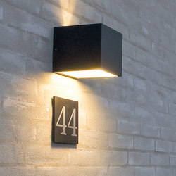 Cube Nameplate | House numbers / letters | Light-Point