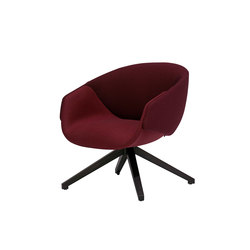 Anita Armchair High Back, Swivel Base, One Colour | Fauteuils | SP01