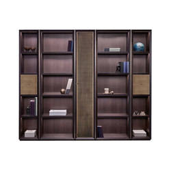 Nightwood modular bookcase | Shelving systems | Promemoria