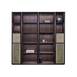 Nightwood modular bookcase | Shelving | Promemoria
