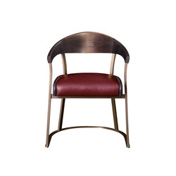 Rachele chair with arms | Visitors chairs / Side chairs | Promemoria