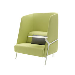 Noldor | Armchair High | Lounge-work seating | Segis