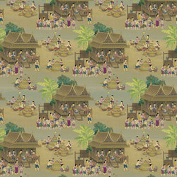 RATCHA - Asia style wallpaper MUZE 204-101 | Wall coverings / wallpapers | e-Delux