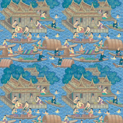 RATCHA - Asia style wallpaper MUZE 204-201 | Wall coverings | e-Delux