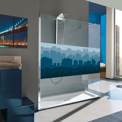Digital Printing Frame | Shower cabins / stalls | SAMO