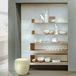 Chef-d'œuvre | Wall storage systems | Forster Küchen