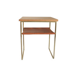 Niles Side Table | Brass | Side tables | Evie Group