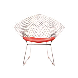 Bertoia Diamond Chair - Chrome | Armchairs | Knoll International