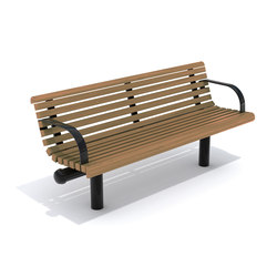 City Form | Bench | Exterior benches | Hags