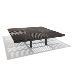 Grid | Bench | Exterior benches | Hags