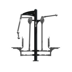Gym Station | Lat Pull & Chest Press Combo | Attrezzatura fitness | Hags