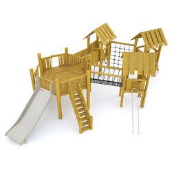 Nature Play | Climb | Selor | Playground equipment | Hags