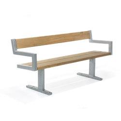 Pixbo | Park Bench | Bancos de exterior | Hags