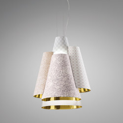 Melting Pot SP 60 light patterns with gold inside | Allgemeinbeleuchtung | Axo Light