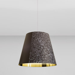 Melting Pot SP 80 fantasie scure con interno oro | Illuminazione generale | Axolight